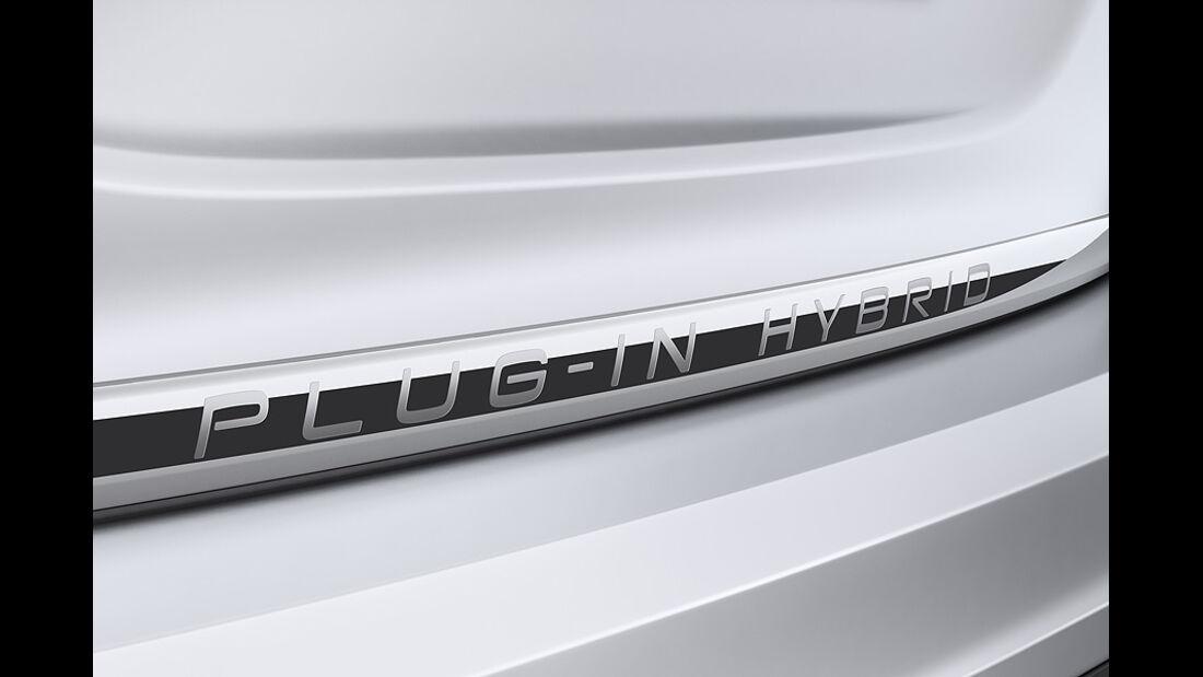 Volvo V60 Diesel-Plug-in-Hybrid, ISchriftzug
