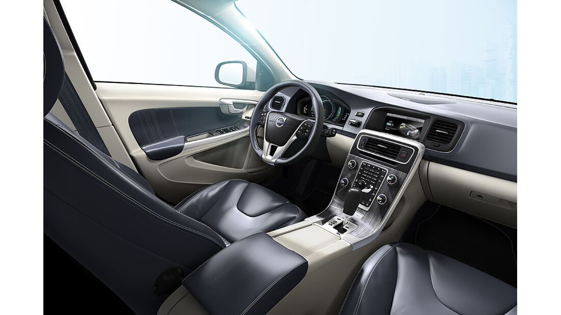 Volvo V60 Diesel-Plug-in-Hybrid, Innenraum