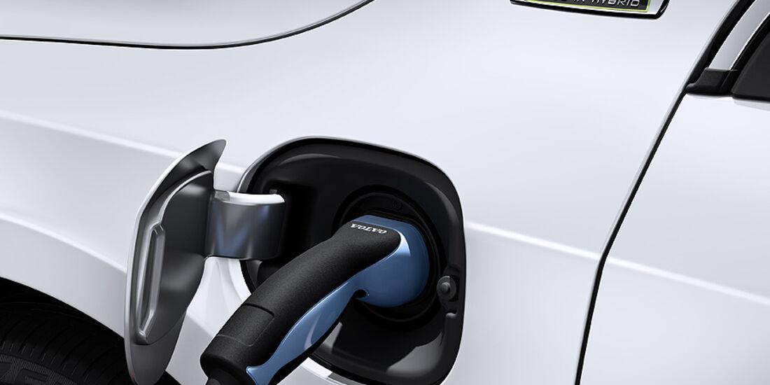 Volvo V60 Diesel-Plug-in-Hybrid, Stecker, Ladestecker, Kabel
