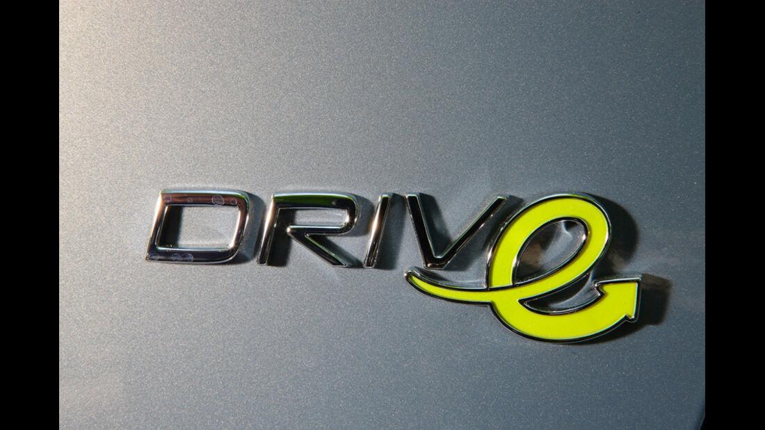 Volvo V60 Drive, Emblem, Schriftzug