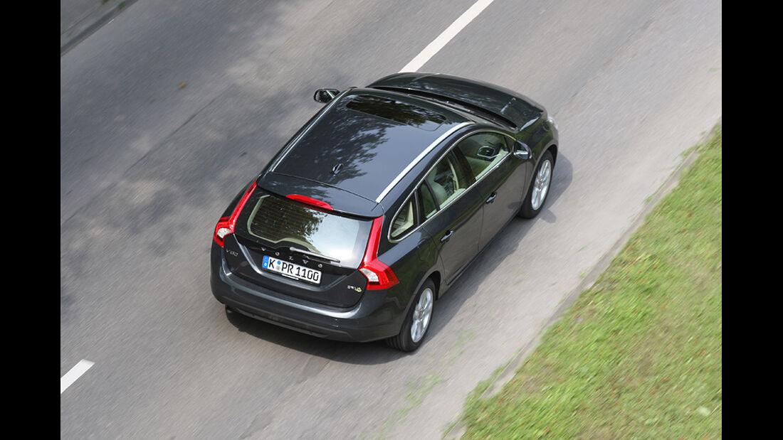 Volvo V60 Drive, Heck