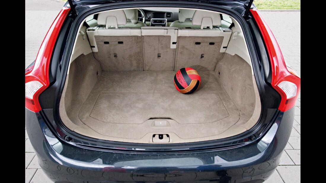 Volvo V60 Drive, Kofferraum
