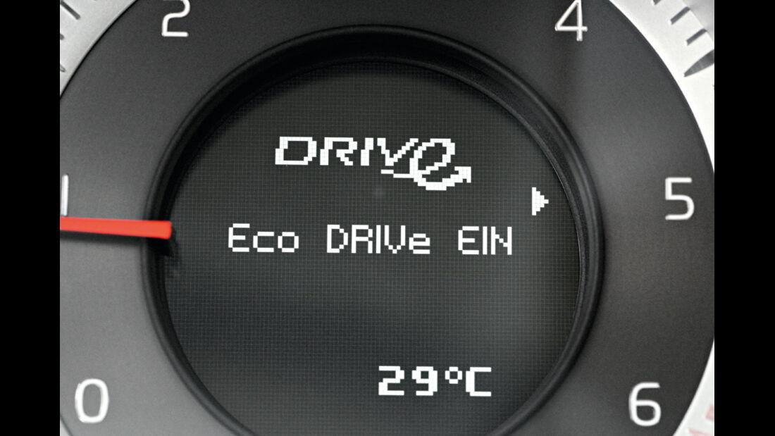 Volvo V60 Drive, Rundinstrumente
