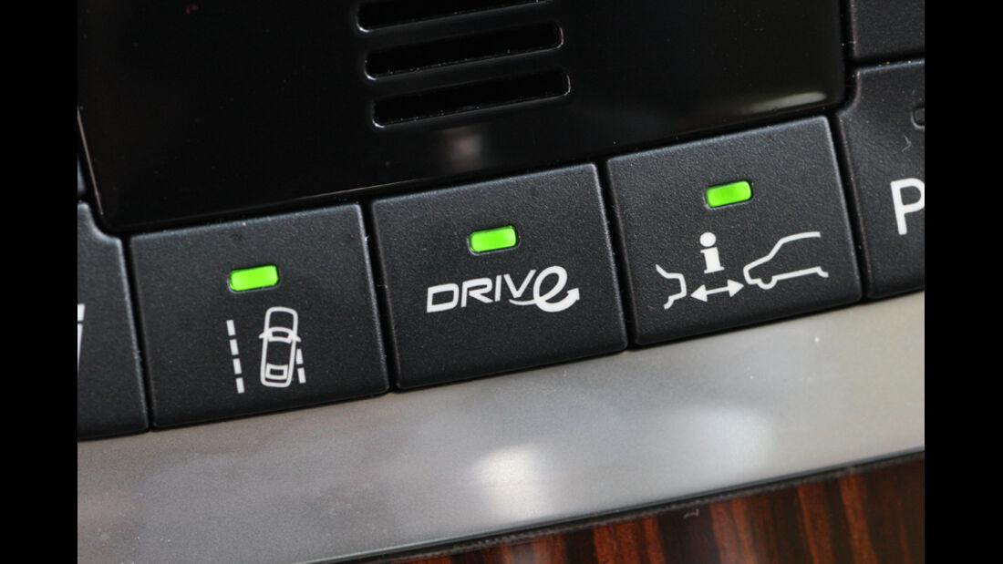 Volvo V60 Drive Summum, Knöpfe, Bedienelemente