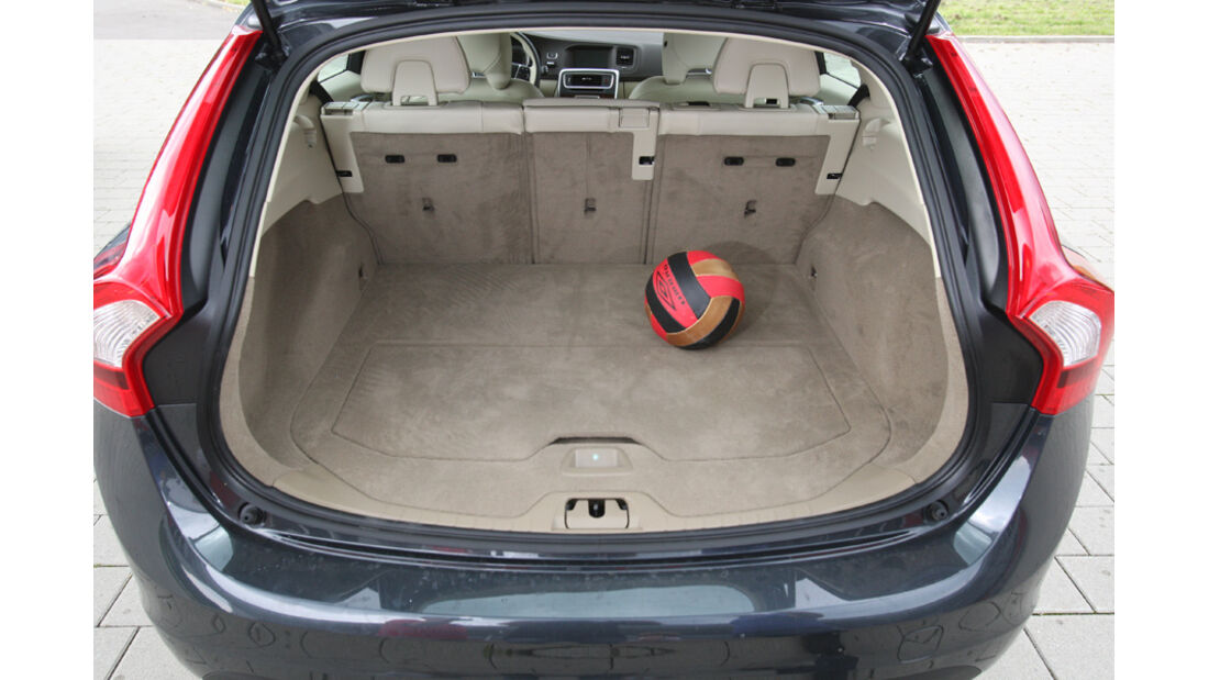 Volvo V60 Drive Summum, Kofferraum, Laderaum