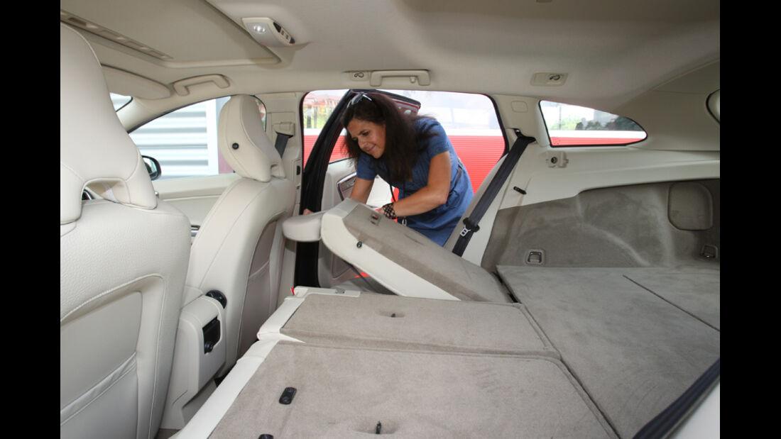 Volvo V60 Drive Summum, Rücksitz, umklappen