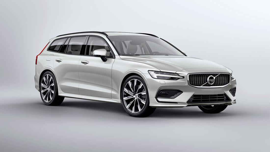 Volvo V60, Exterieur