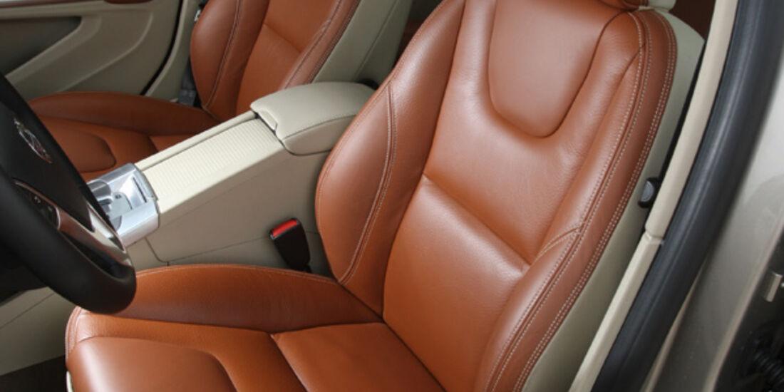 Volvo V60, Fahrersitz, Ledersitz