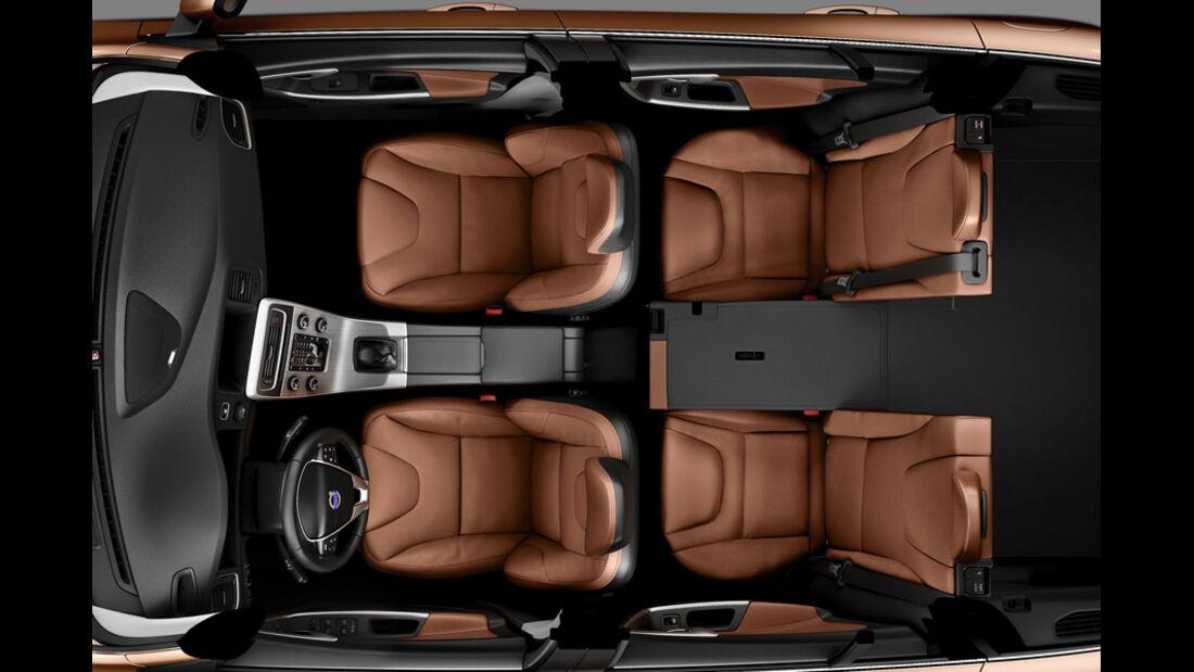 Volvo V60, Innenraum