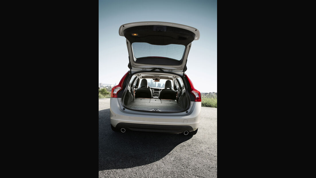 Volvo V60, Kofferraum