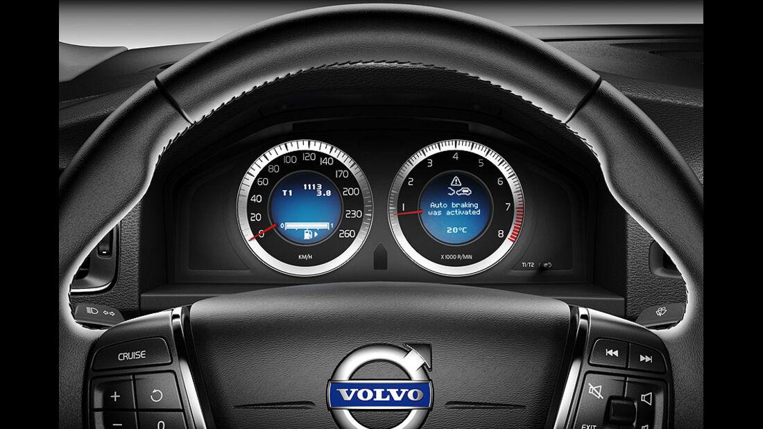 Volvo V60, Lenkrad