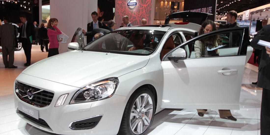 Volvo V60 Paris 2010