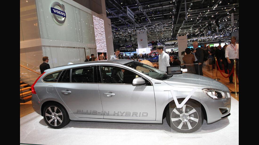 Volvo V60 Plug-in Hybrid, Autosalon Genf 2012, Messe