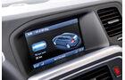 Volvo V60 Plug-in-Hybrid, Bildschirm, Ladezustand