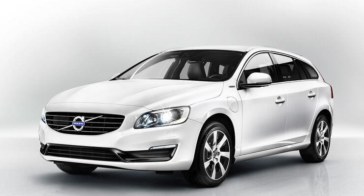 Volvo V60 Plug-in-Hybrid Facelift 2013