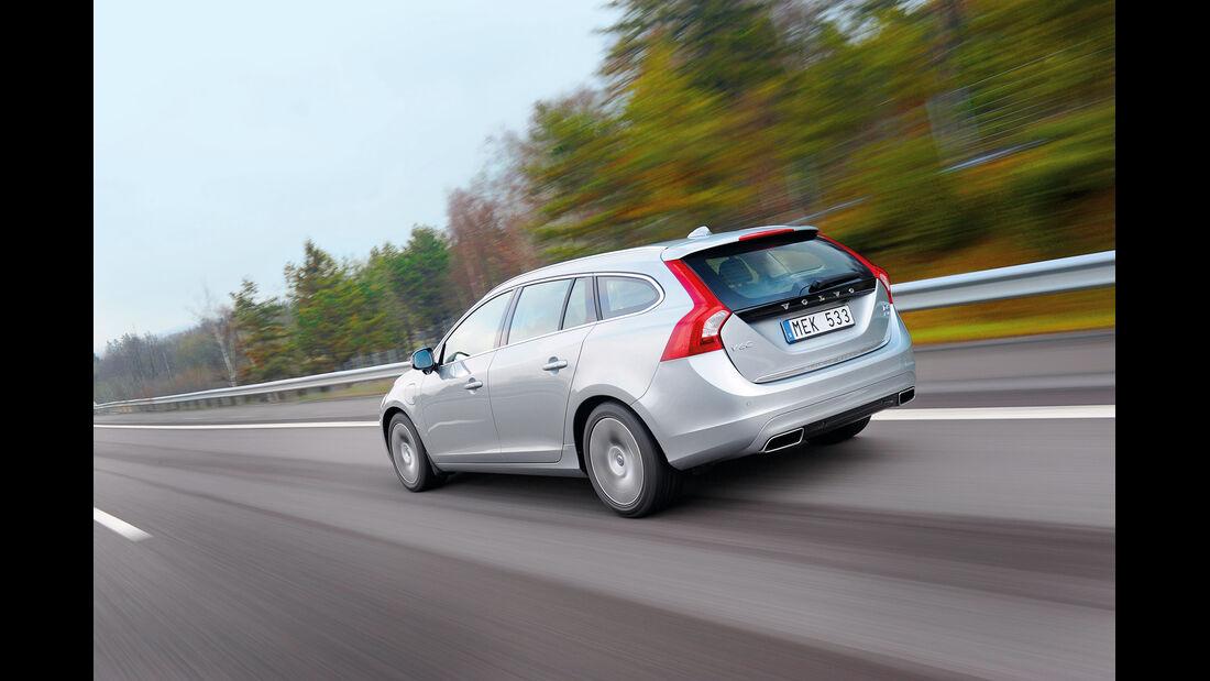 Volvo V60 Plug-in-Hybrid, Heck