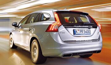 Volvo V60 Plug-in Hybrid, Heckansicht