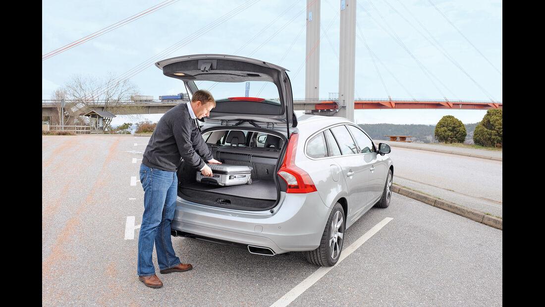 Volvo V60 Plug-in-Hybrid, Heckklappe, Kofferraum
