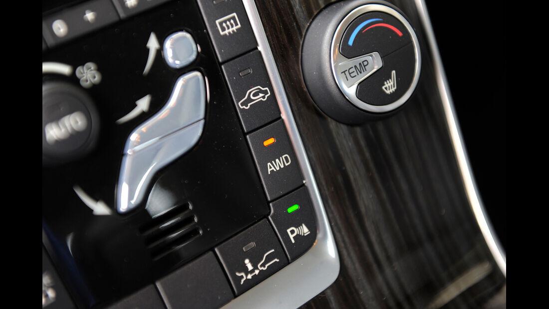 Volvo V60 Plug-in-Hybrid, Mittelkonsole