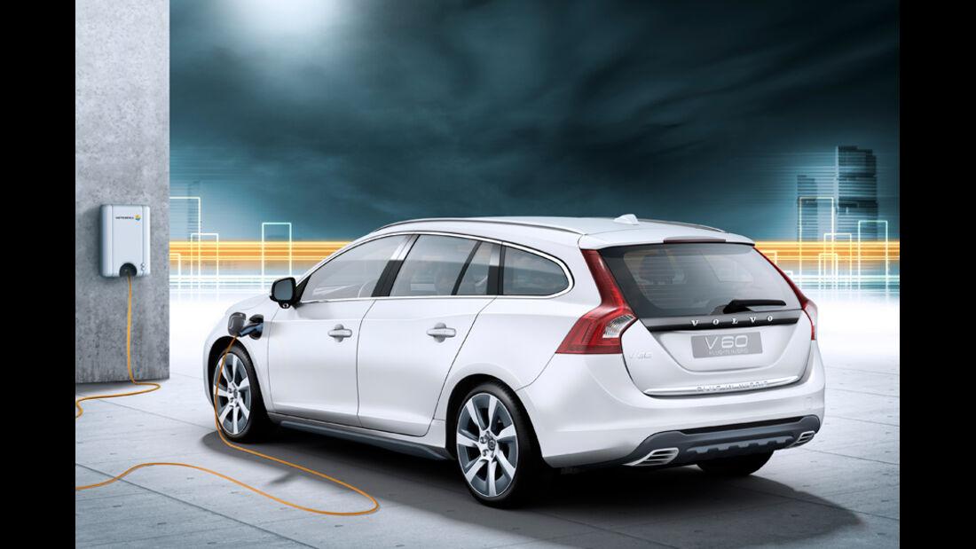 Volvo V60 Plugin Hybrid, Rückansicht