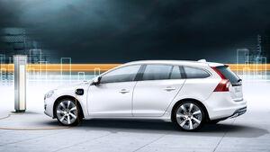 Volvo V60 Plugin Hybrid, Seitenansicht