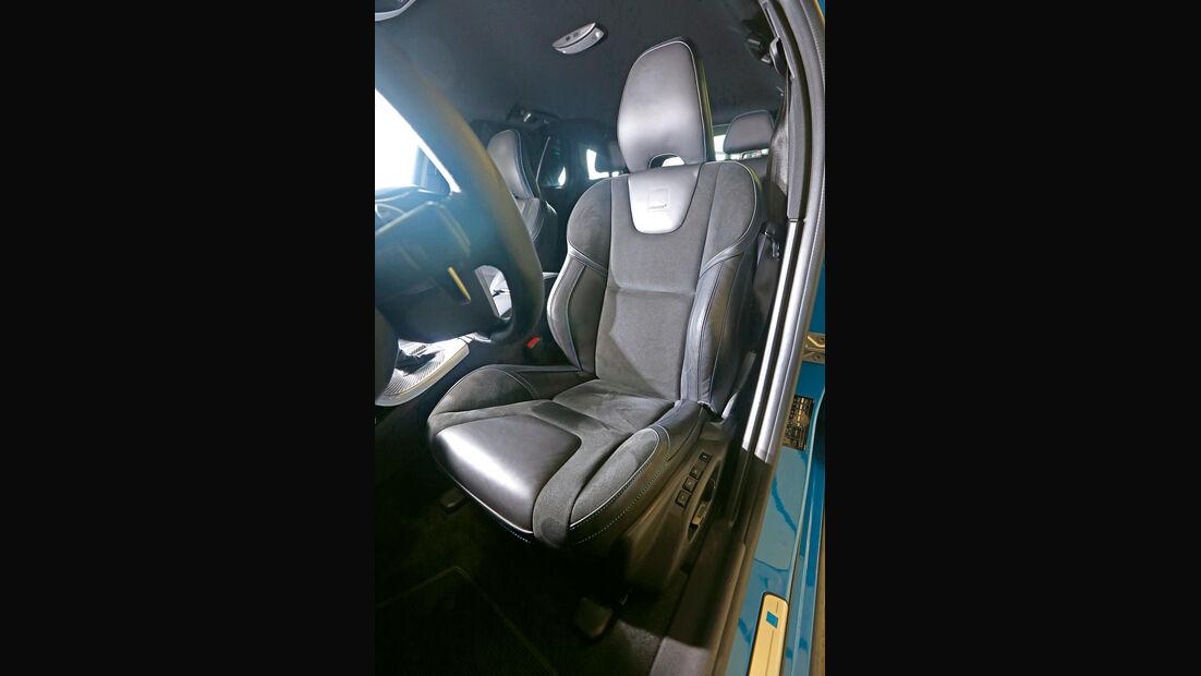 Volvo V60 Polestar, Fahrersitz