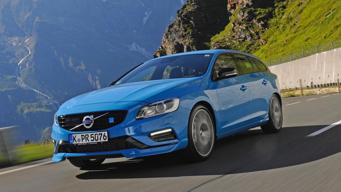 Volvo V60 Polestar, Frontansicht