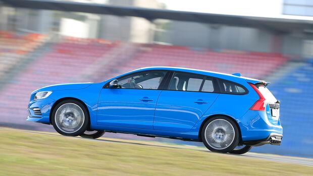 Volvo V60 Polestar, Seitenansicht