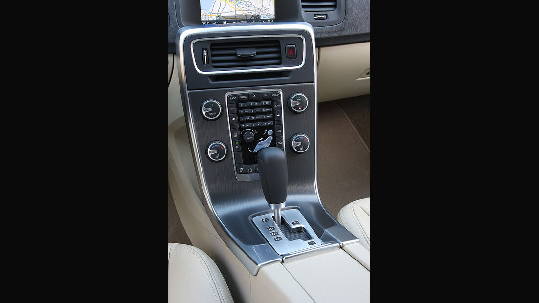 Volvo V60, Schaltknauf