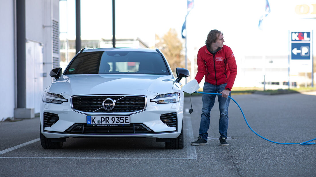 Volvo V60 T6 Twin Engine, Exterieur