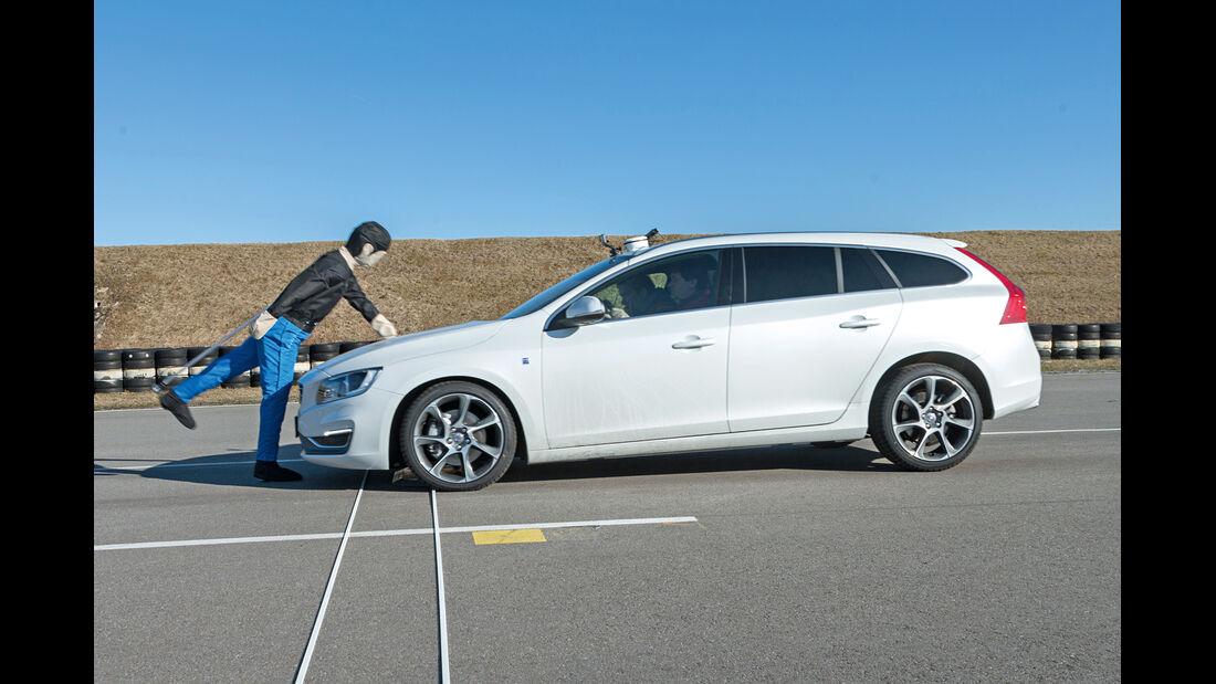 Volvo V60, Test, Dummy