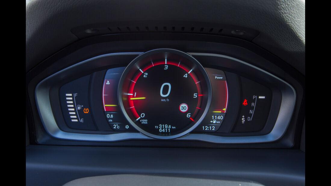 Volvo V70 D4, Rundinstrumente
