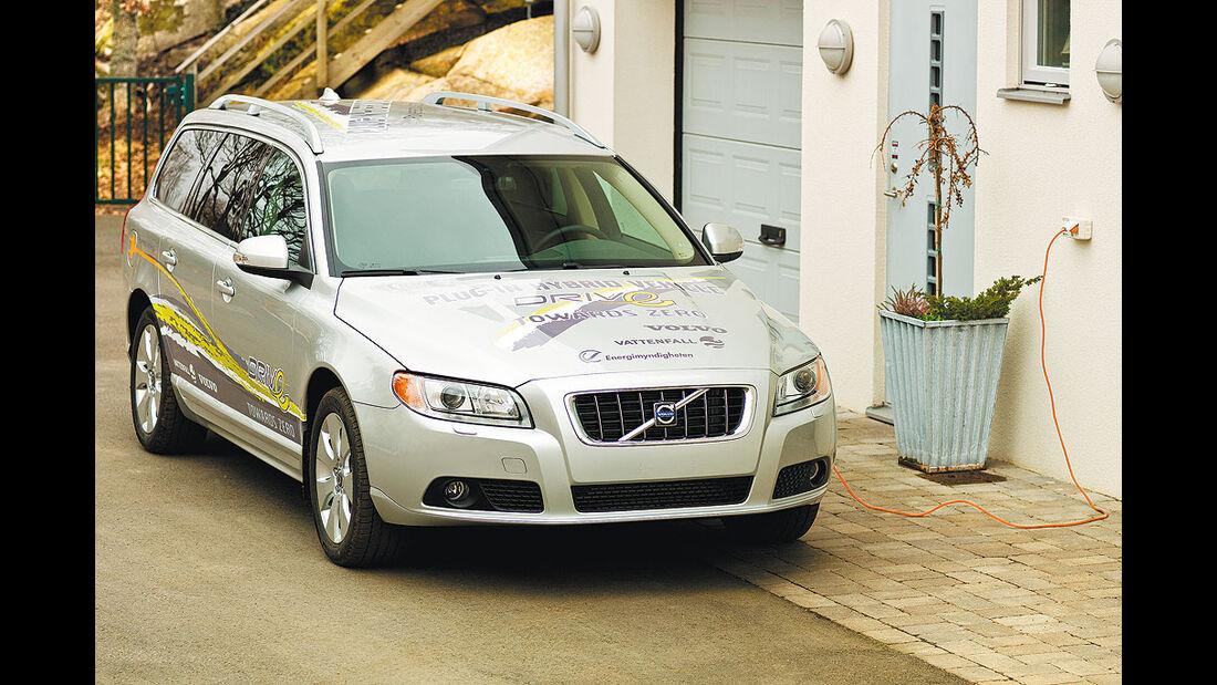 Volvo V70 Plug-In-Hybrid, elektroauto