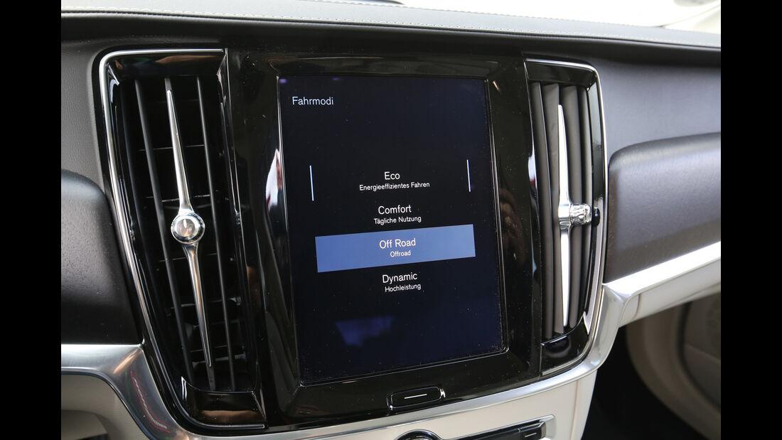 Volvo V90 CC D5 AWD, Fahreinstellung