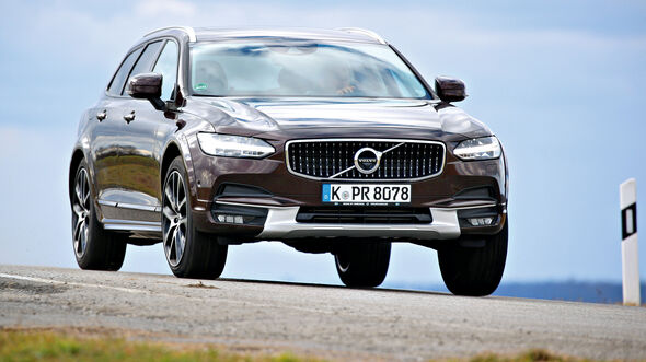 Volvo V90 CC D5 AWD, Frontansicht