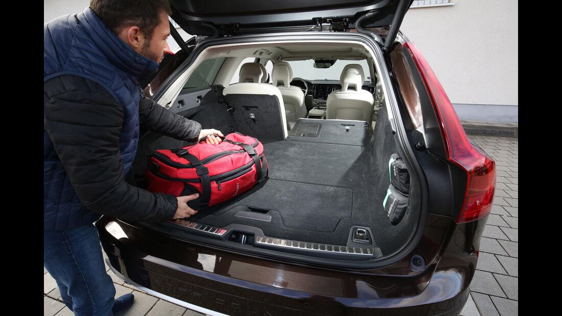Volvo V90 CC D5 AWD, Kofferraum