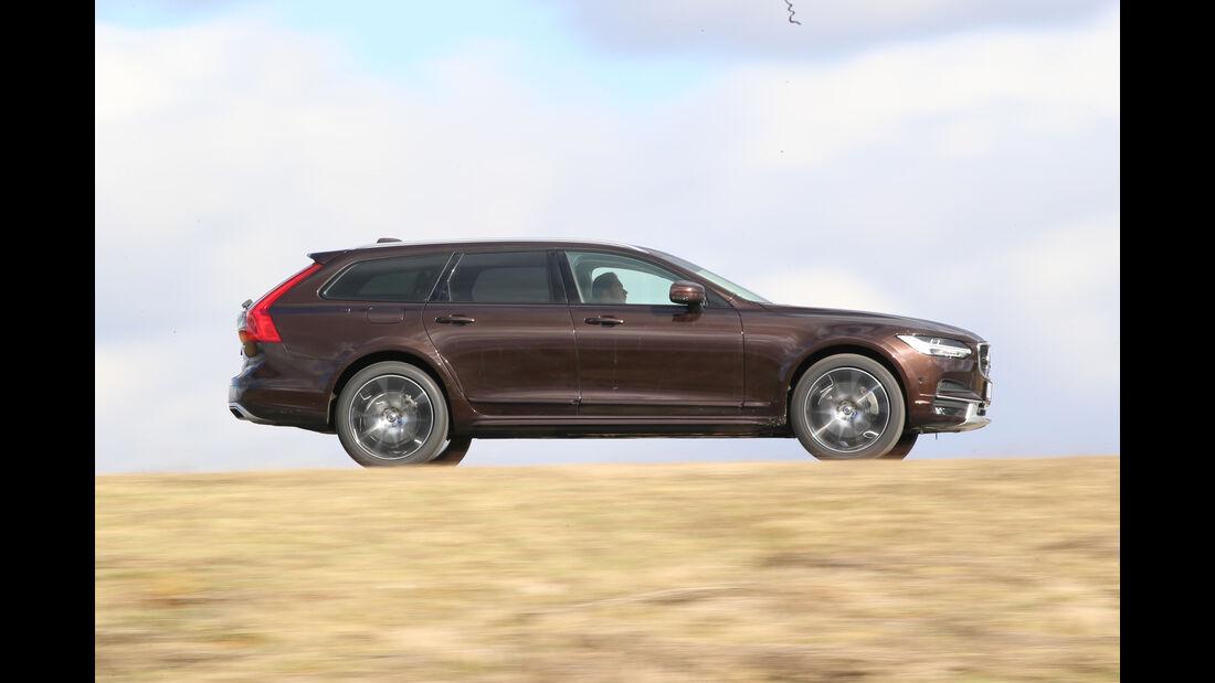 Volvo V90 CC D5 AWD, Seitenansicht
