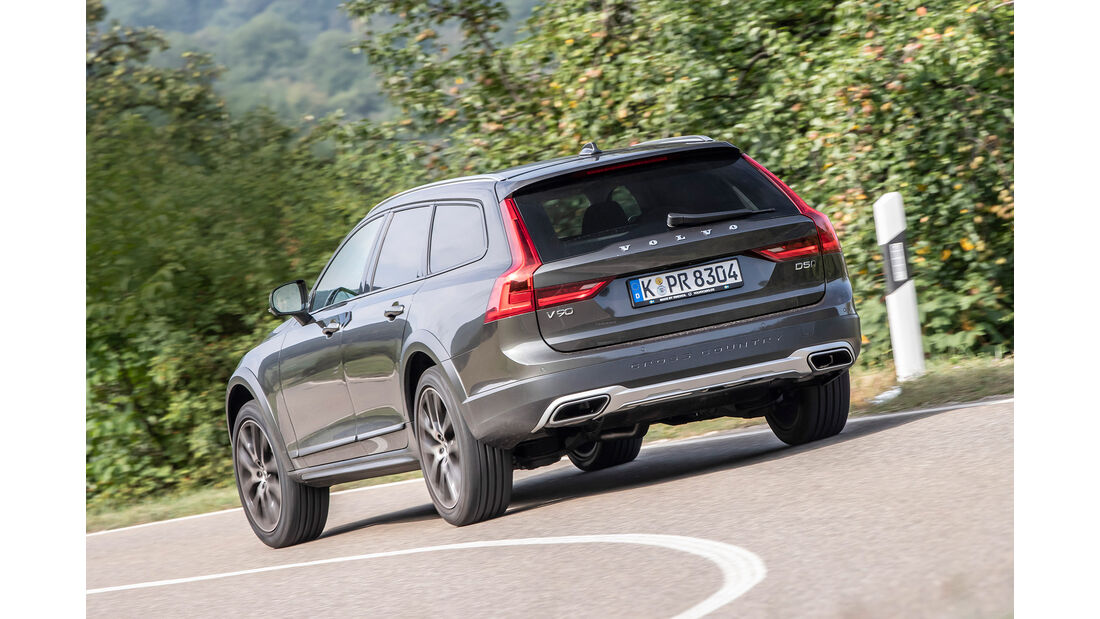 Volvo V90 Cross Country, Exterieur