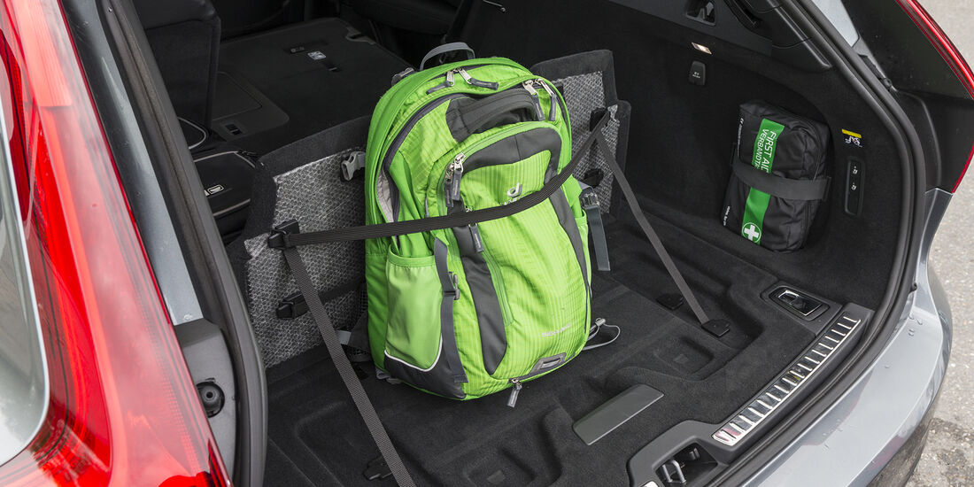 Volvo V90 D3 AWD, Interieur, Kofferraum
