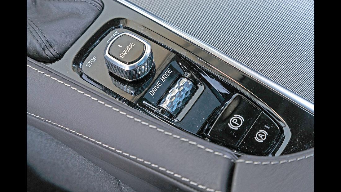 Volvo V90 D4, Bedienelemente