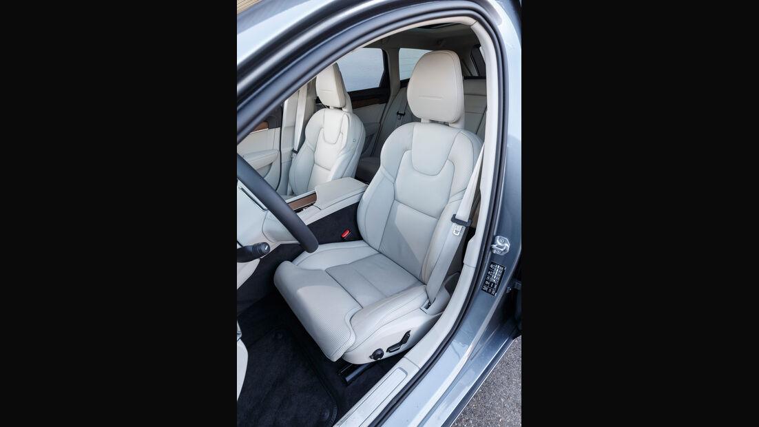 Volvo V90 D5 AWD, Fahrersitz