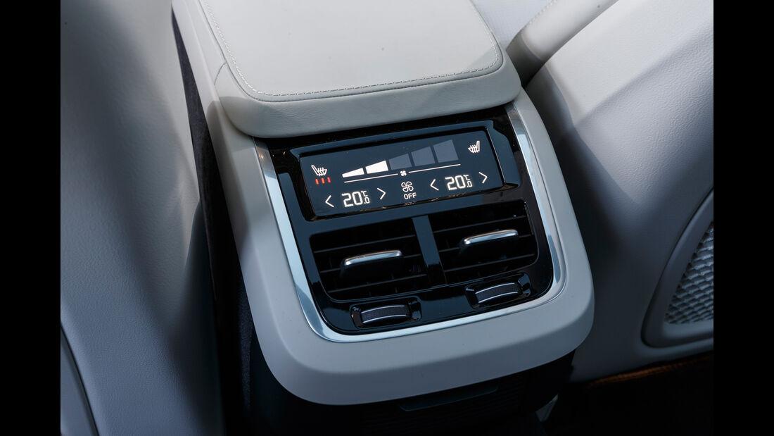 Volvo V90 D5 AWD, Luftausströmer