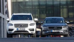 Volvo V90 D5 AWD, Volvo XC90 D5 AWD, Frontansicht