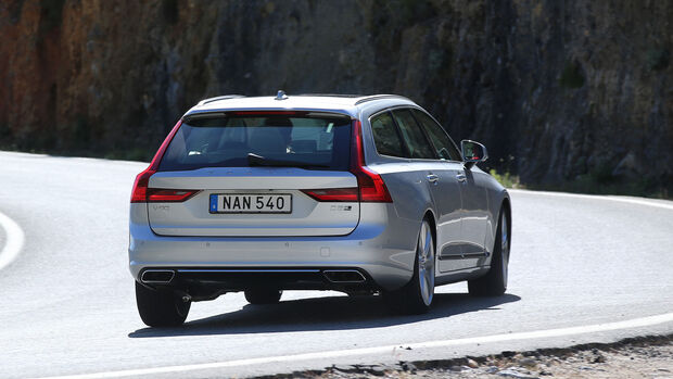 Volvo V90 Fahrbericht Dirk Gulde