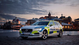 Volvo V90 Polizeiauto