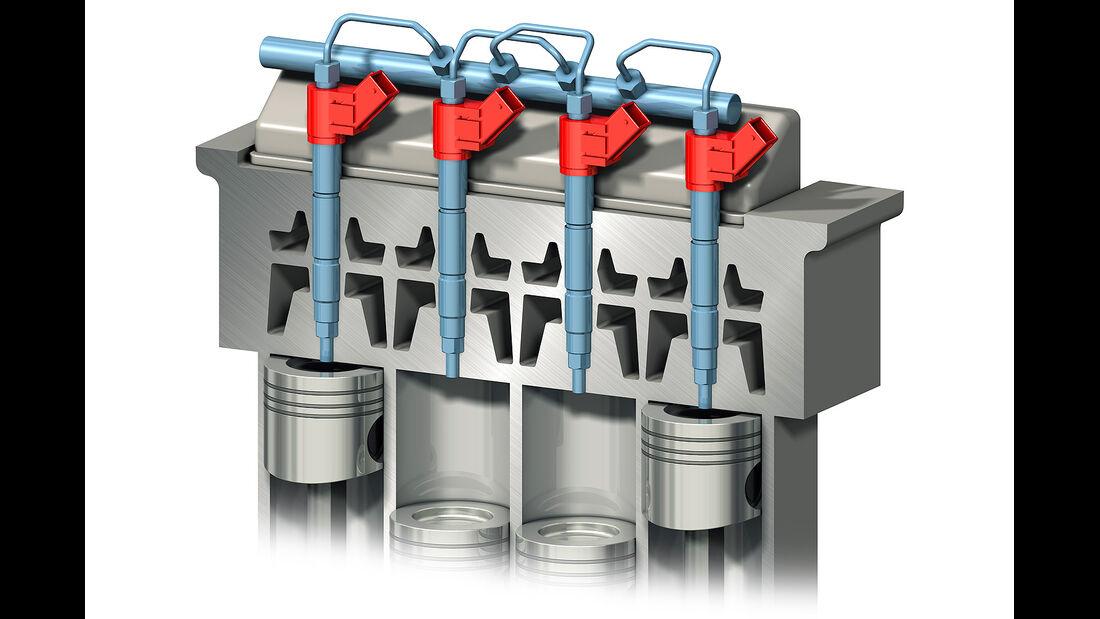 Volvo Vierzylindermotoren