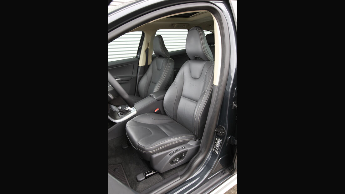 Volvo XC 60 D3 R Design, Fahrersitz