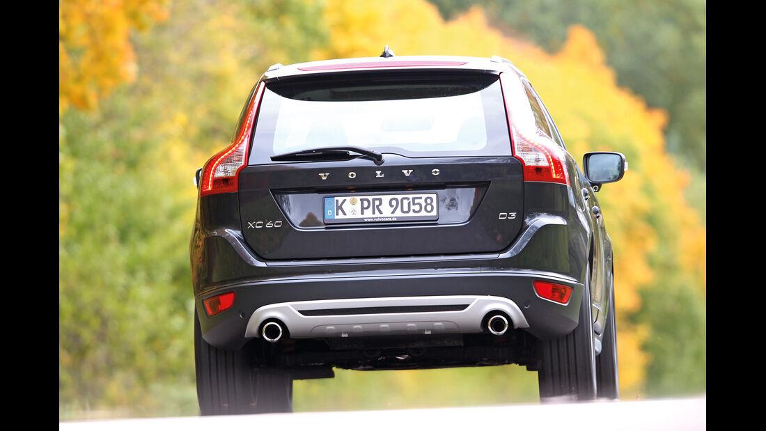 Volvo XC 60 D3 R Design, Heckansicht