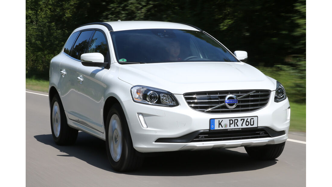 Volvo XC 60 D4 AWD, Frontansicht
