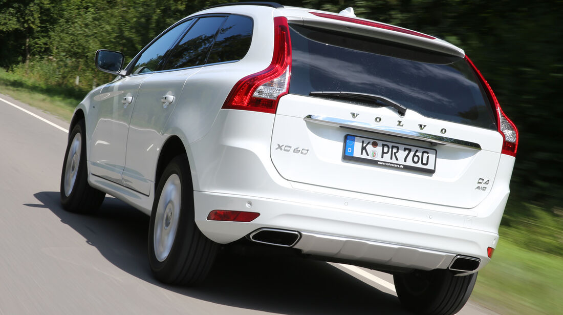 Volvo XC 60 D4 AWD, Heckansicht